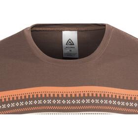 Aclima DesignWool Marius T-Shirt Homme, fondue fudge